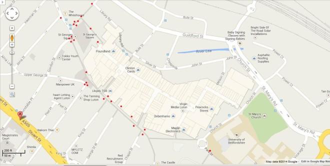 CCTV Map